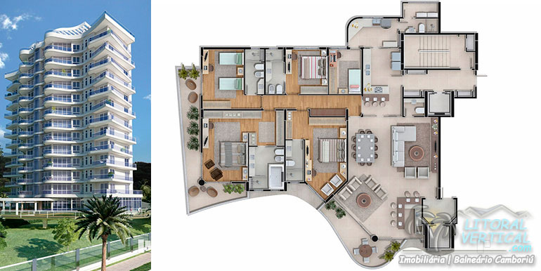 Torres 1 e 14 doBrava Home Resort