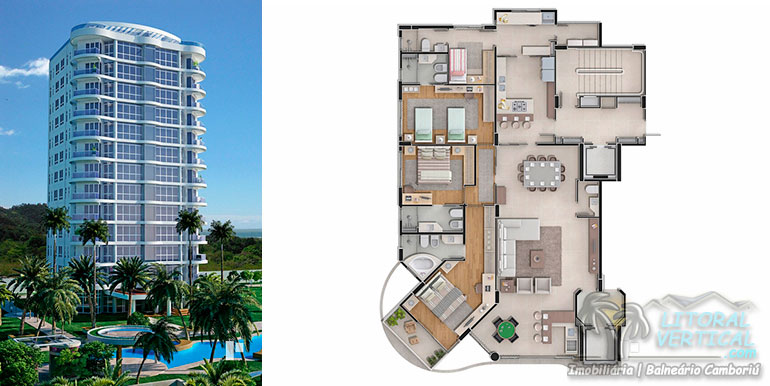 Torres 3 e 12doBrava Home Resort