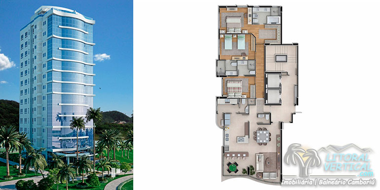 Torres 6 e 9doBrava Home Resort